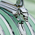 1951 Pontiac Streamliner Hood Ornament 3 Print by Jill Reger