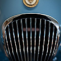1952 Jaguar Hood Ornament and Grille Poster by Sebastian Musial