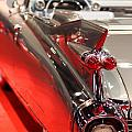 1959 Cadillac Convertible . Wing View Print by Wingsdomain Art and Photography