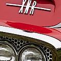 1960 Plymouth XNR Ghia Roadster Grille Emblem Poster by Jill Reger
