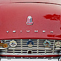 1960 Triumph TR 3 Grille Emblems Poster by Jill Reger