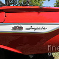 1961 Chevrolet Impala SS Convertible . 5D16266 Print by Wingsdomain Art and Photography