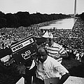 1963 March On Washington. Nbc Poster by Everett