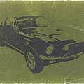 1968 Ford Mustang Print by Irina  March