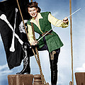 Against All Flags, Maureen Ohara, 1952 Print by Everett