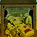 Butcher, Medieval Tradesman Print by Science Source