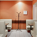 Cafe Dining Room Print by Magomed Magomedagaev