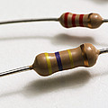 Carbon Film Resistors Poster by Photo Researchers, Inc.