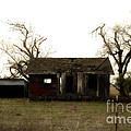 Dilapidated Old Farm House . 7D10341 Poster by Wingsdomain Art and Photography