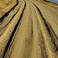 Dirt road winding Poster by Sami Sarkis