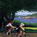 East Van Bike Ride Poster by Neil Woodward
