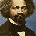 Frederick Douglass African-american Poster by Photo Researchers