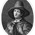GEORGE FOX (1624-1691) Print by Granger