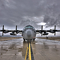 High Dynamic Range Image Of A U.s. Air Print by Terry Moore