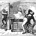 MURDER OF SMITH, 1844 Print by Granger
