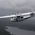 Pby Catalina Vintage Flying Boat by Daniel Karlsson