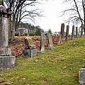 Pleasant Forest Cemetery Print by Paul Mashburn