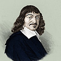 Rene Descartes, French Polymath Print by Science Source