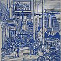 South Congress Print by William Cauthern
