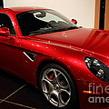 2008 Alfa Romeo 8C Competizione - 7D17230 Print by Wingsdomain Art and Photography