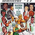 2008 Boston Celtics Team Poster Print by Dave Olsen