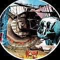 24 Port Hole Collage Series One Number Twenty Four Poster by Gabe Art Inc