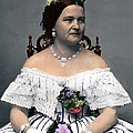 Mary Todd Lincoln 1818-1882, Wife Poster by Everett