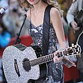 Taylor Swift On Stage For Nbc Today Poster by Everett