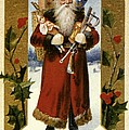 AMERICAN CHRISTMAS CARD Poster by Granger