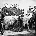 DEATH OF LINCOLN, 1865 Poster by Granger
