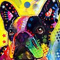 French Bulldog Poster by Dean Russo