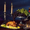 Artistic Food Still Life Poster by Oleksiy Maksymenko