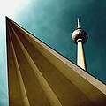 Berlin TV Tower Poster by Falko Follert