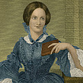 Charlotte Bronte, English Author Poster by Photo Researchers