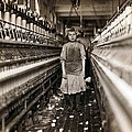 Child Laborer Portrayed By Lewis Hine Poster by Everett