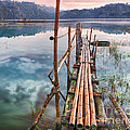 Tamblingan lake Poster by MotHaiBaPhoto Prints