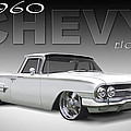 60 Chevy El Camino Print by Mike McGlothlen