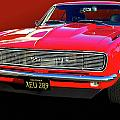 68 SS Camaro Poster by Bill Dutting