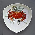 866 6 Part of Crab Set  866  Poster by Wilma Manhardt