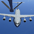 A C-17 Globemaster Iii Approaches Print by Stocktrek Images
