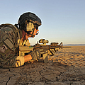 A Combat Rescue Officer Provides Poster by Stocktrek Images