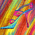 A High Heel Print by Kenal Louis