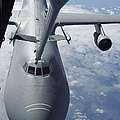 A Kc-10 Extender Prepares To Refuel Print by Stocktrek Images