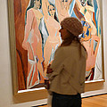 A Maid and Les Demoiselles d'Avignon Print by Frank Winters