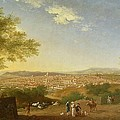 A Panoramic View of Florence from Bellosguardo Poster by Thomas Patch