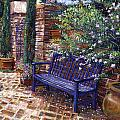 A Shady Resting Place Poster by David Lloyd Glover
