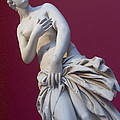 A Statue Of Aphrodite At The Acropolis Print by Richard Nowitz