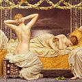 A Summer Night Print by Albert Joseph Moore