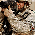A U.s. Air Force Combat Cameraman Print by Stocktrek Images