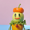 A Vegetable Doll Poster by Yagi Studio